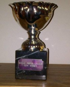 2014 SEAC Pistol League Trophy