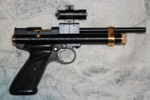 Crosman 2240 air pistol. Credit: Carl, Lancs, England.
