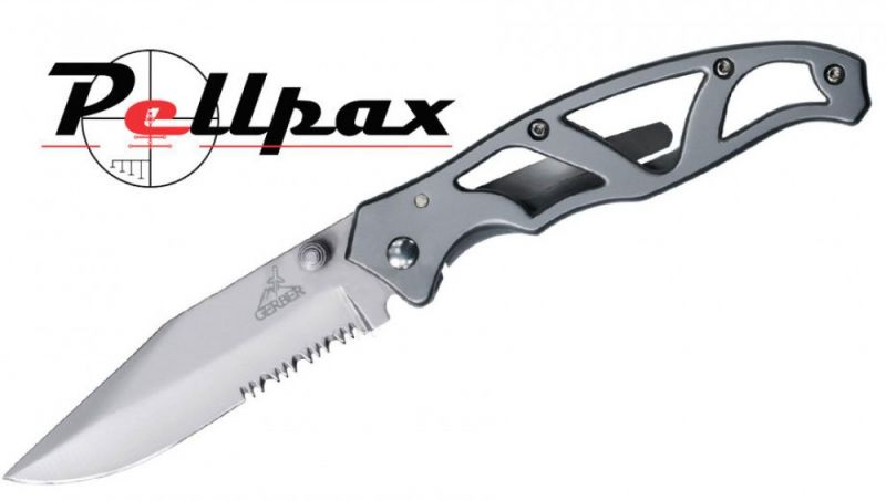 lightweight, stainless steel design : the Gerber Paraframe 2