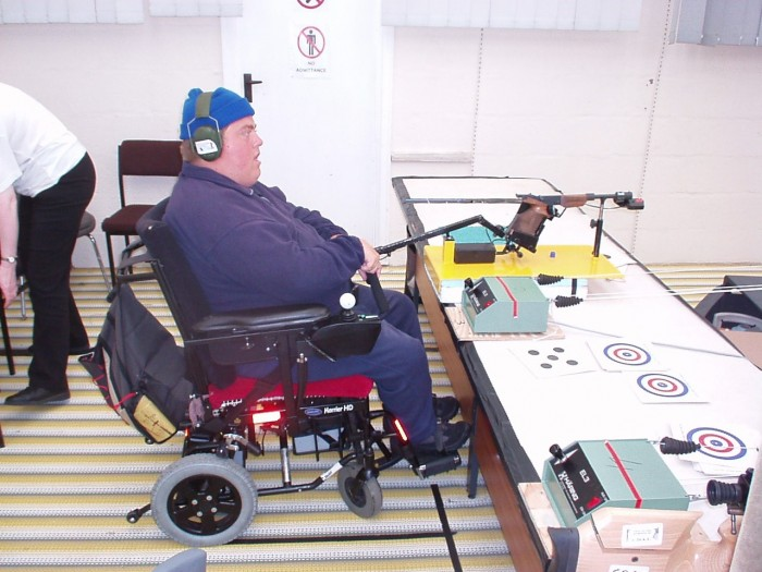 disabled shooter paul tries out some new gear