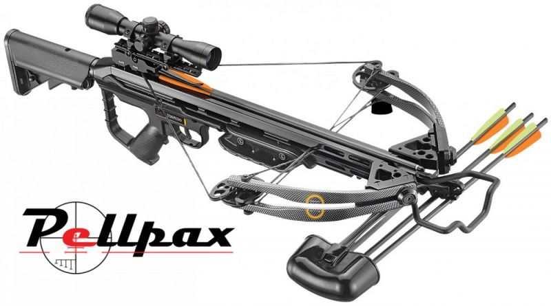 Crossbow Face Off : Barnett Raptor FX3 vs EK Archery Torpedo 185lbs