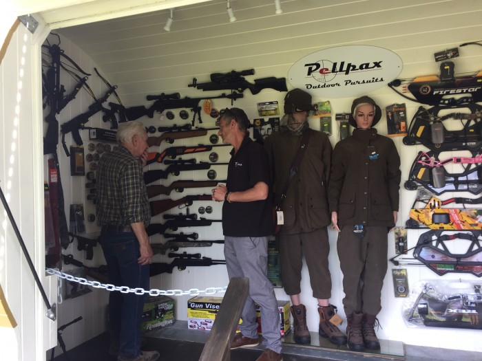 Our travelling airgun store, the Bullet, goes on tour
