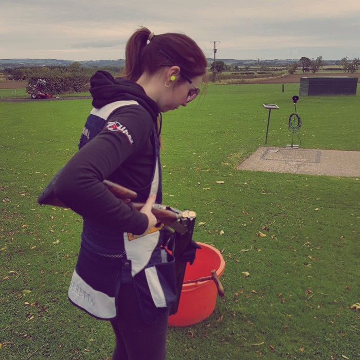 Pellpax Girl, Amy Brown, Prepares for the Cyprus Grand Prix