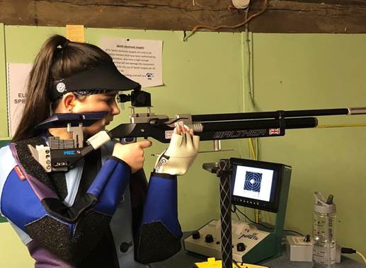 Pellpax sponsors another young Olympic shooting hopeful