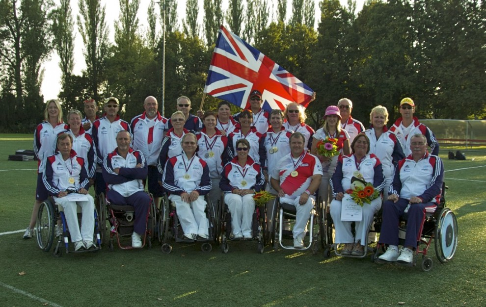 GB archery squad for the Czech Republic games