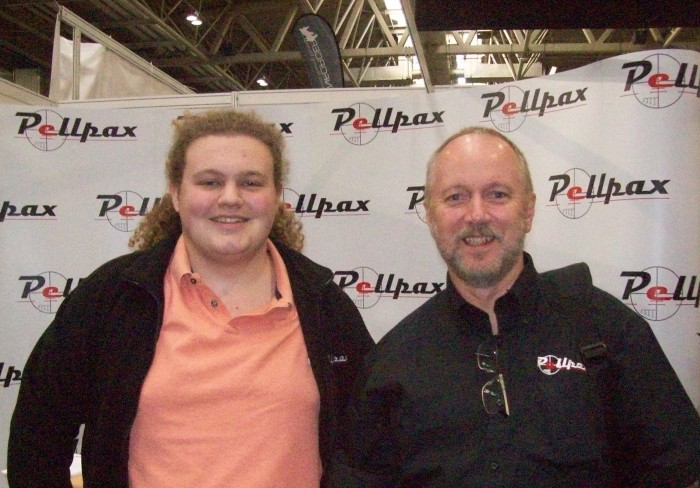Pellpax at the British Shooting Show 2019
