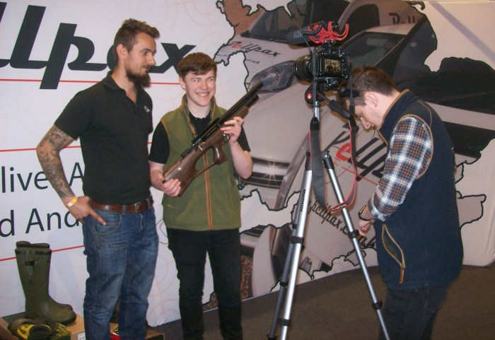 Pellpax at the Northern Shooting Show