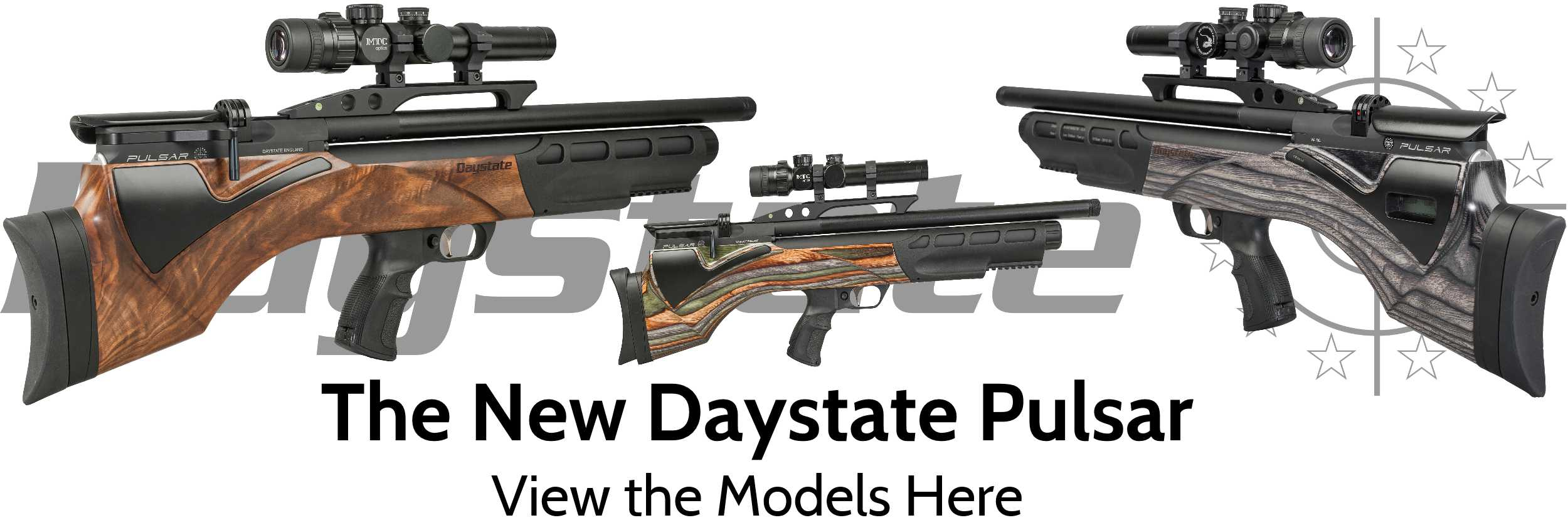 The New Daystate Pulsar Rifle