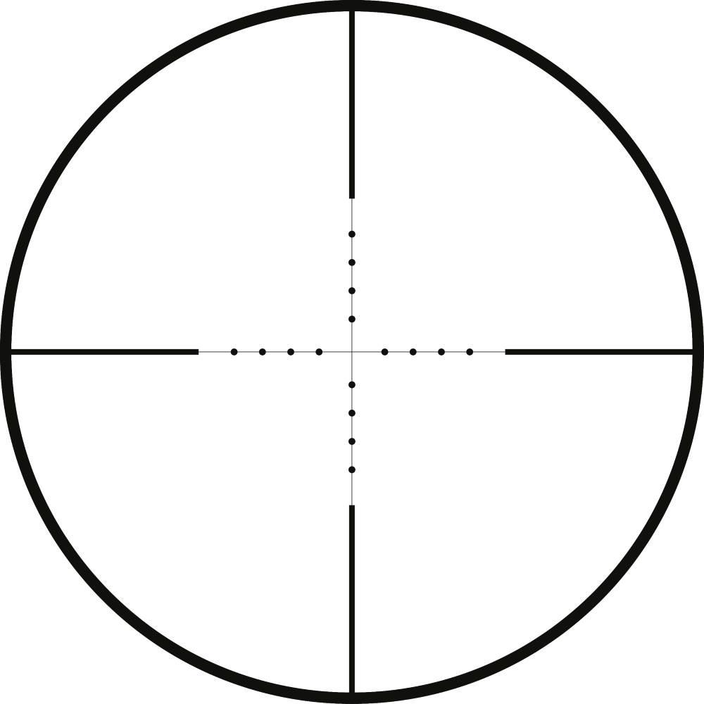 Hawke Vantage 2 7x32 Ao Mil Dot Reticle Rifle Scopes