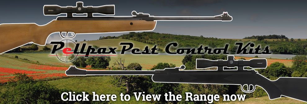 View our collection of Pest and Vermin Control Air Rifle Kits here.