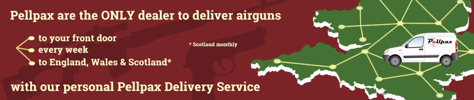 Air rifle and pistol kits weekly UK delivery