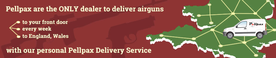 Air rifles air pistols weekly UK delivery