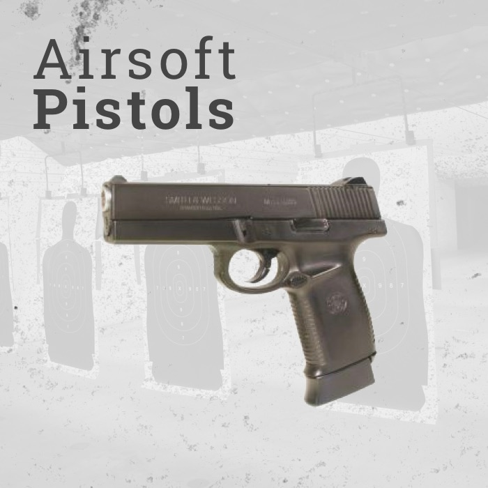 CO2 Powered Airsoft Pistols