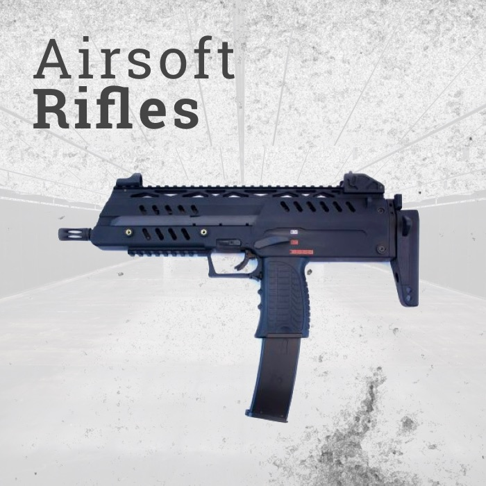 Gas Powered Airsoft Rifles