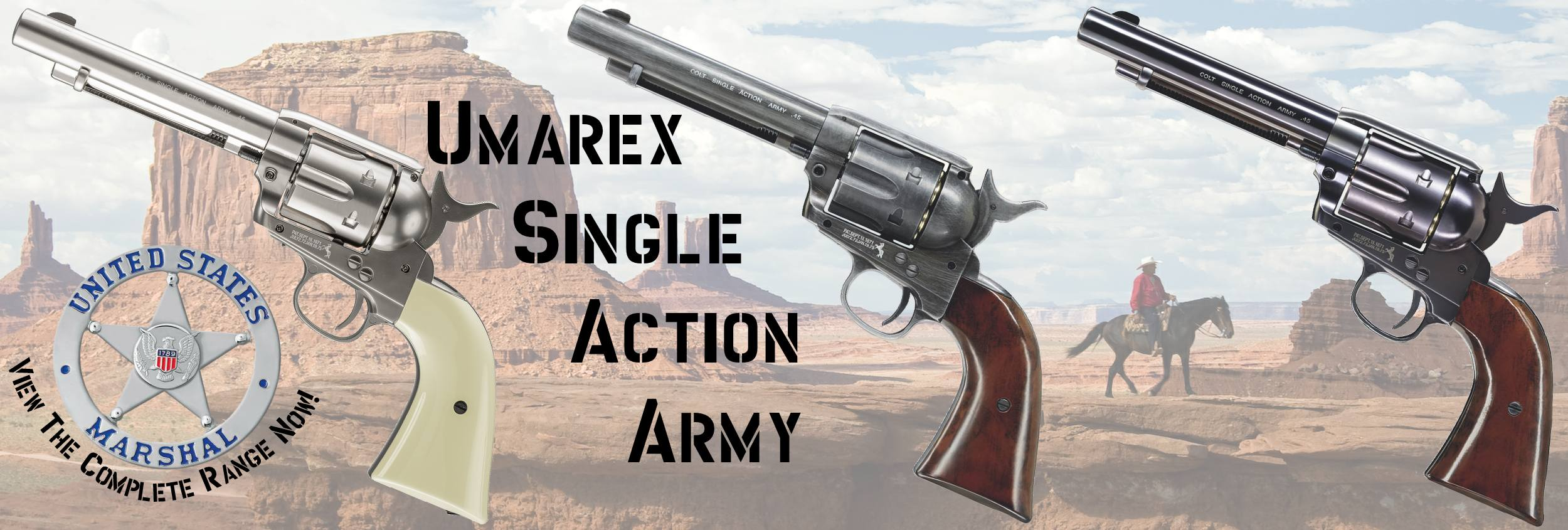 Umarex Colt Peacemaker Single Action Army Co2 Pistols