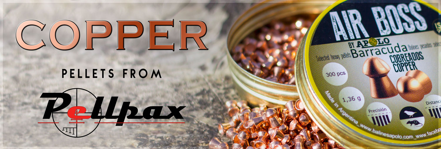 Check out our range of Copper Pellets at Pellpax Today!