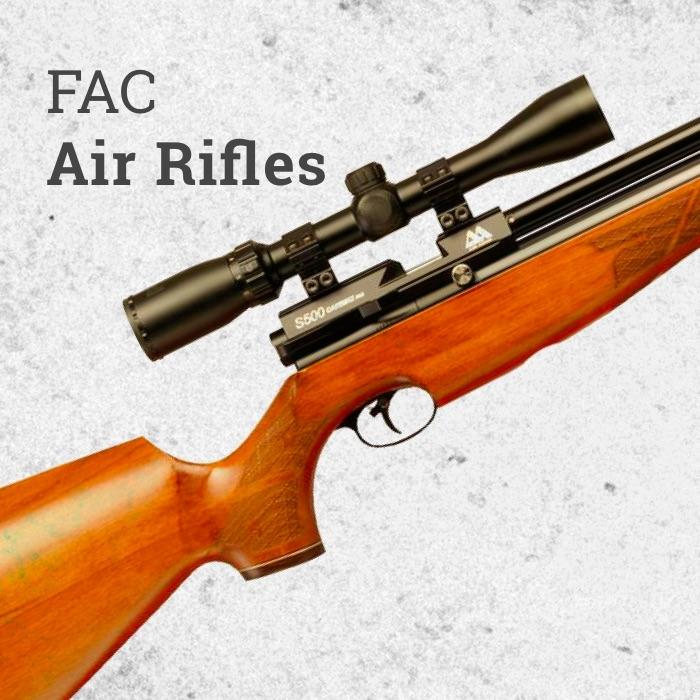Pre Charged Pneumatic FAC Air Rifles