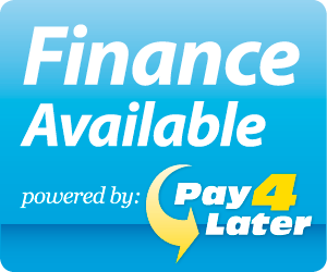 Finance Available from Pay4Later