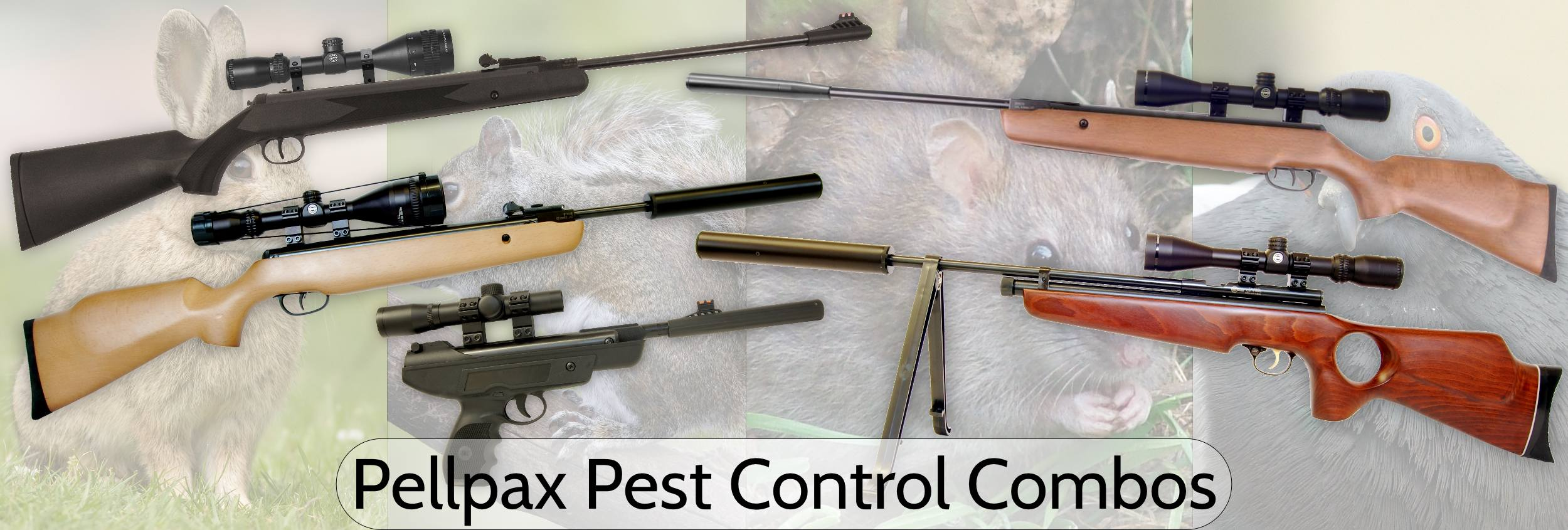 Pellpax Pest Control Combos are ideal for getting rid of most common pests in your garden such as Rats, Rabbits, Pigeons, and Squirrels.