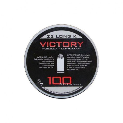 .22 (6mm) Long Blanks Tub of 100
