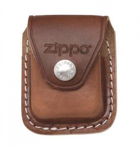 Zippo Tan Leather Pouch