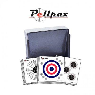 Pellpax Flat Target Trap Set - 17cm