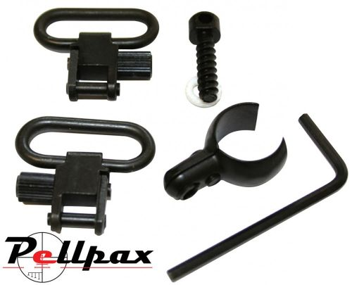 Deben Swivel & 15mm Barrel Clamp Set