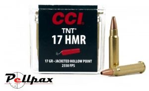 CCI TNT Hollow Point - .17HMR