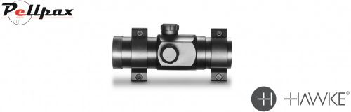 Hawke Red Dot Sight 1x25 - 9-11mm