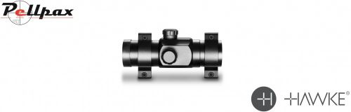 Hawke Red Dot Sight 1x30 - Weaver Rings