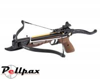 EK Archery Cobra 80lbs Aluminium Pistol Crossbow - Wooden Stock