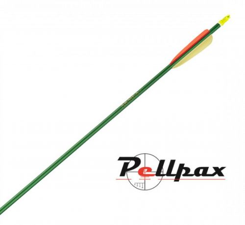 "Heavy Duty Green Aluminium Arrows 30"" - Pack of 5"