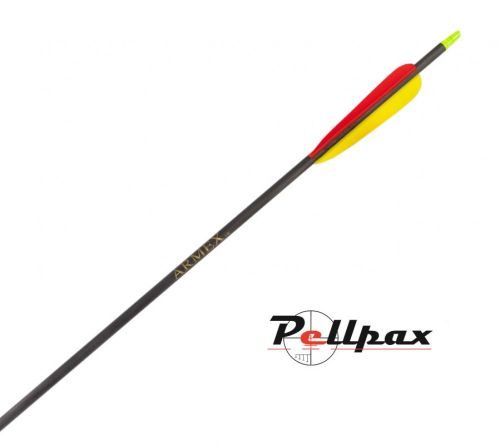 """Superfast Carbon Black Arrows 30"""" - Pack of 5"""