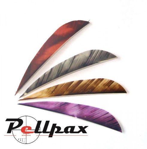 "4"" Parabolic Camo Feathers"