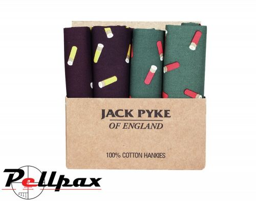 Jack Pyke - 4 Piece Hanky Set - Cartridge