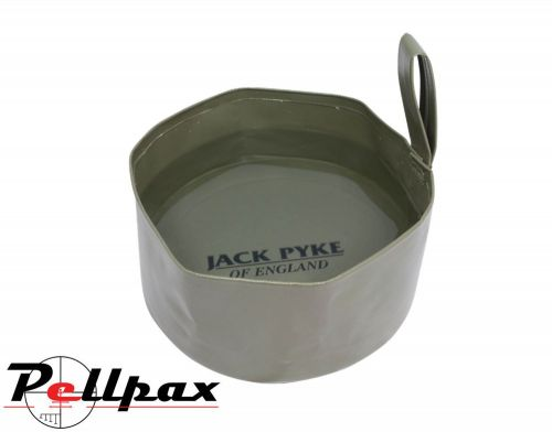 Collapsible Dog Bowl By Jack Pyke in Green