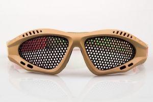 NP Shades Mesh Eye Protection - Tan