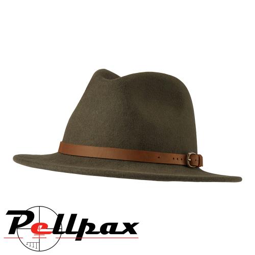 Adventurer Felt Hat in Green by Deerhunter