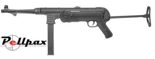 AGM MP40 6mm AEG Airsoft - Black Stock