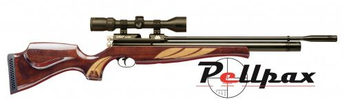 Air Arms S400 Superlite .22 Rifle Length - Deluxe High Gloss Stock