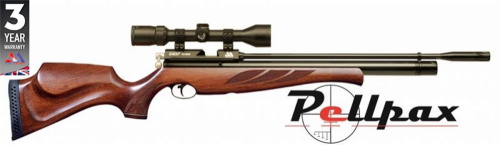 Air Arms S410 Superlite .22 Rifle Length Air Rifle - Traditional Stock