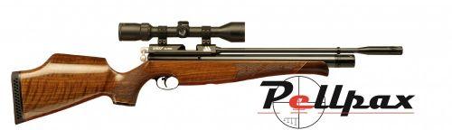 Air Arms S400 .177 Carbine Air Rifle - Walnut Stock