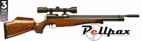 Air Arms S400 .22 Rifle Length Air Rifle - Walnut Stock