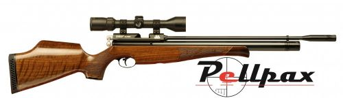 Air Arms S400 .22 Rifle Length Air Rifle - Walnut Stock