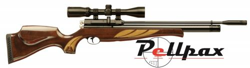 Air Arms S410 Superlite .22 Rifle Length Air Rifle - Deluxe High Gloss Stock