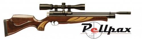 Air Arms S410 Superlite .22 Carbine Air Rifle - Deluxe High Gloss Stock