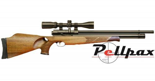 Air Arms S510 .177 - Thumbhole Walnut Stock