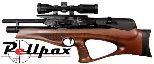 Air Arms Galahad Beech Air Rifle Regulated - .22