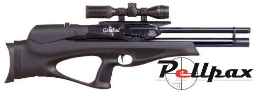 Air Arms Galahad Black Soft Touch Air Rifle Non-Regulated - .22
