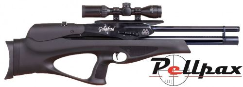 Air Arms Galahad Black Soft Touch Regulated - .22